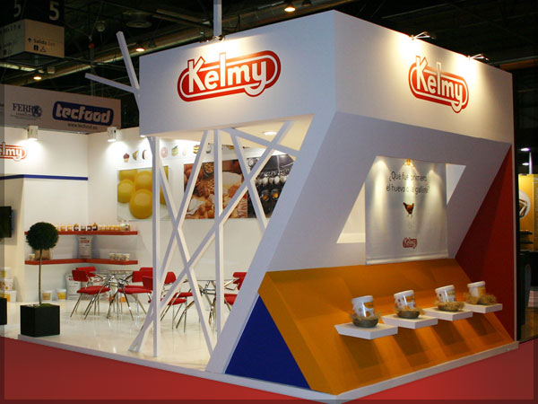 Kelmy / Intersicop 2011 / Vista general del stand